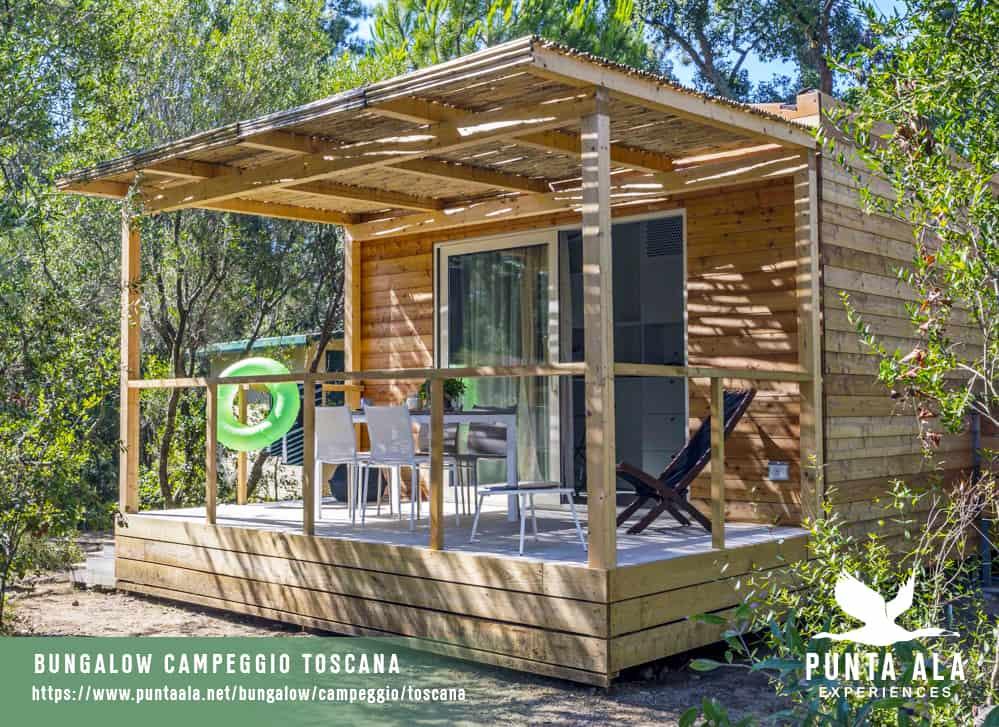 bungalow campeggio toscana