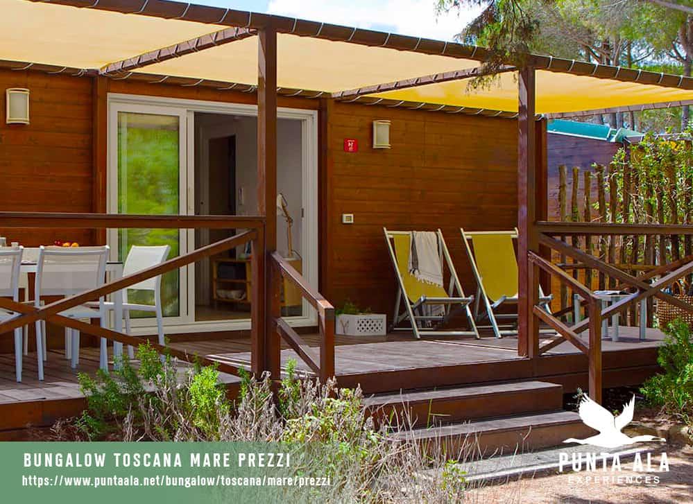 bungalow toscana mare prezzi