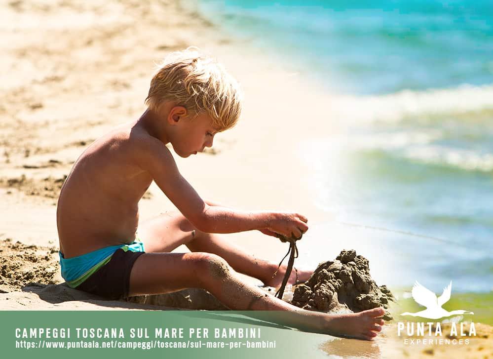 campeggi toscana sul mare per bambini