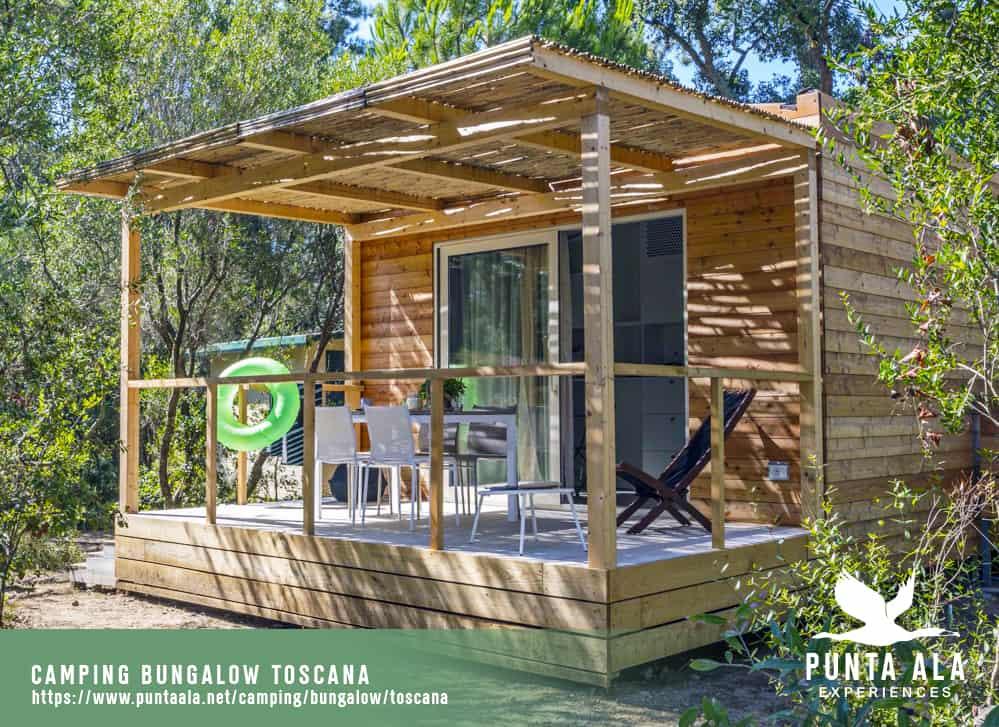 camping bungalow toscana