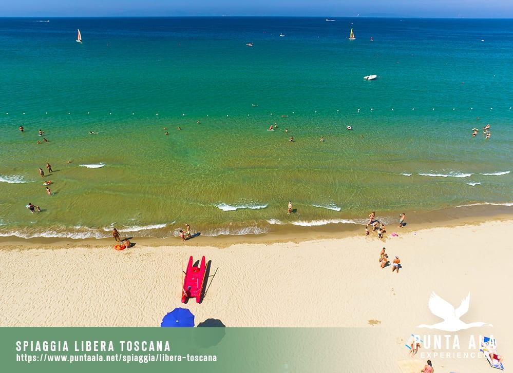 spiaggia libera toscana