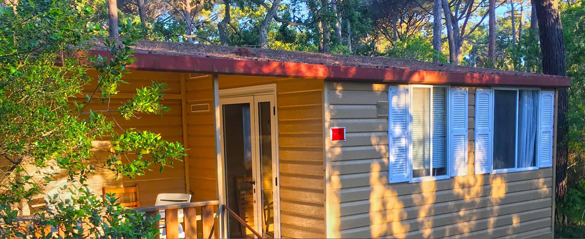 camping toscana bungalow