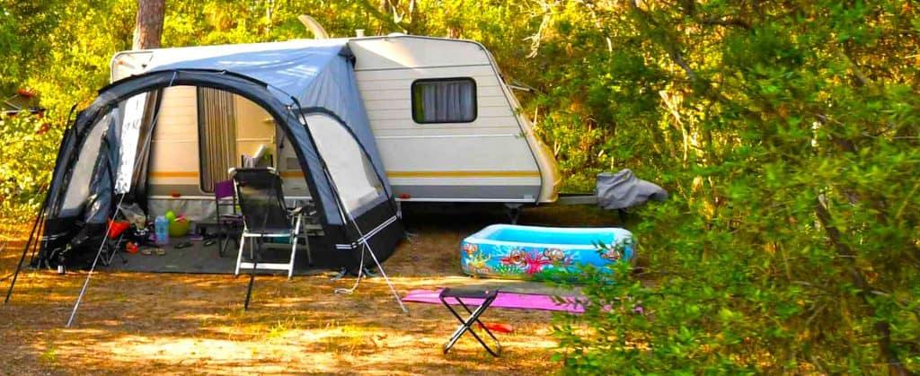 piazzole per il campeggio